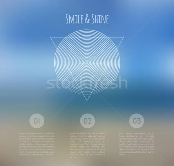 Zdjęcia stock: Zamazany · web · design · szablon · eps · 10 · działalności