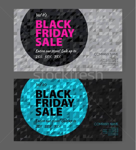 Big sale flyers template Stock photo © anastasiya_popov