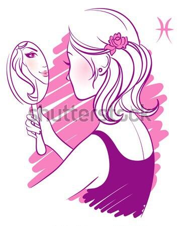 Schoonheid vrouw partij vrouwen sexy mode Stockfoto © anastasiya_popov