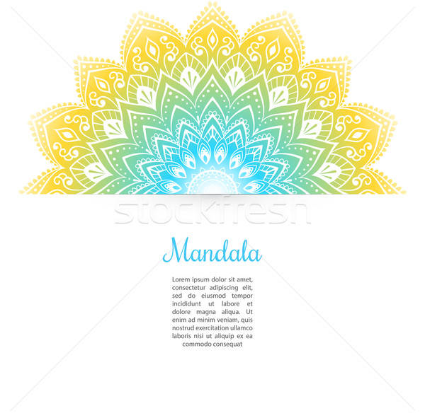 Color Mandala background Stock photo © anastasiya_popov