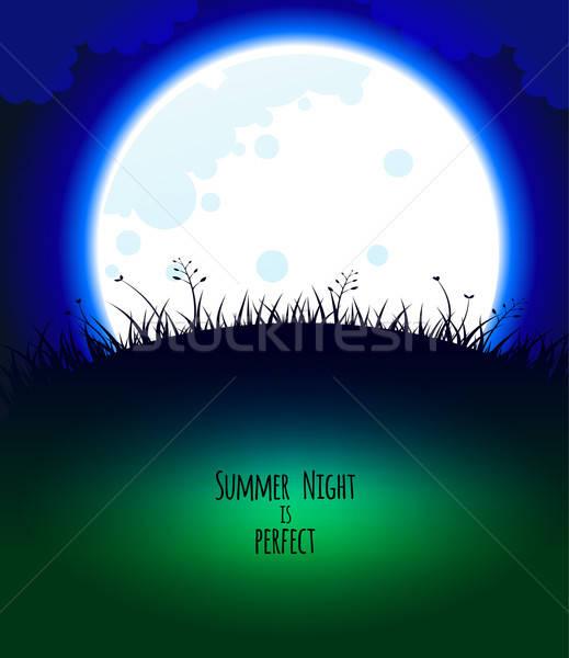 Good night design Stock photo © anastasiya_popov