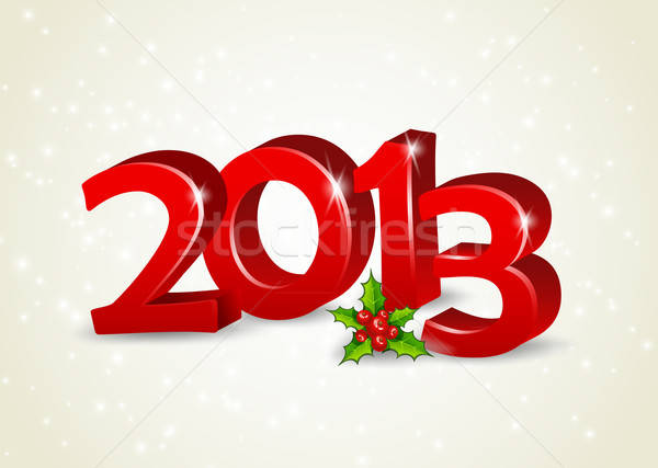 Happy new year 2013 Stock photo © anastasiya_popov