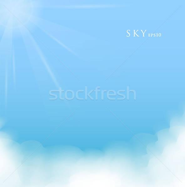 Sky with clouds Stock photo © anastasiya_popov