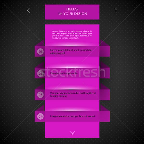 Stock fotó: Rózsaszín · terv · internet · absztrakt · bár · mobil