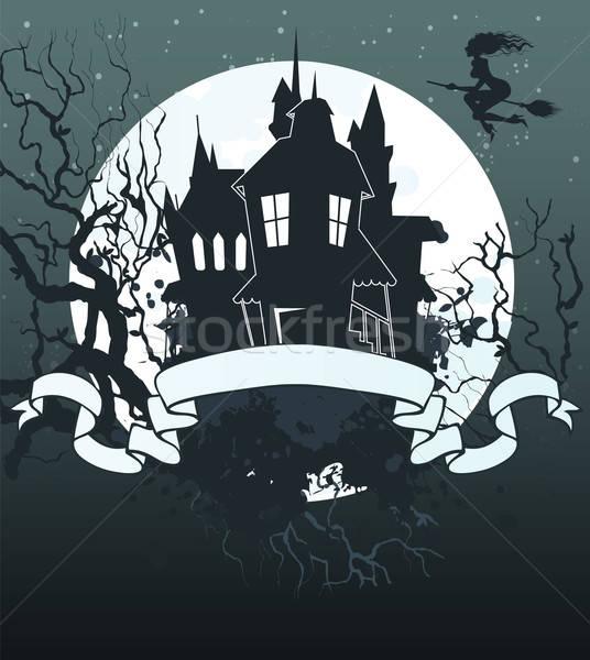 Halloween dark back Stock photo © anastasiya_popov