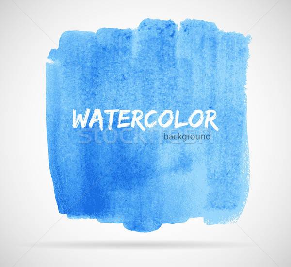 水彩画 デザイン ビジネス 水 抽象的な 光 ストックフォト © anastasiya_popov