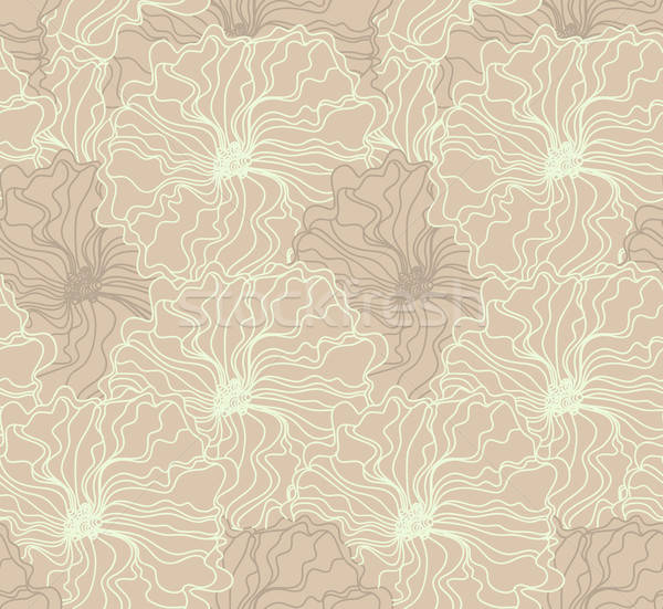 Seamless floral pattern Stock photo © anastasiya_popov