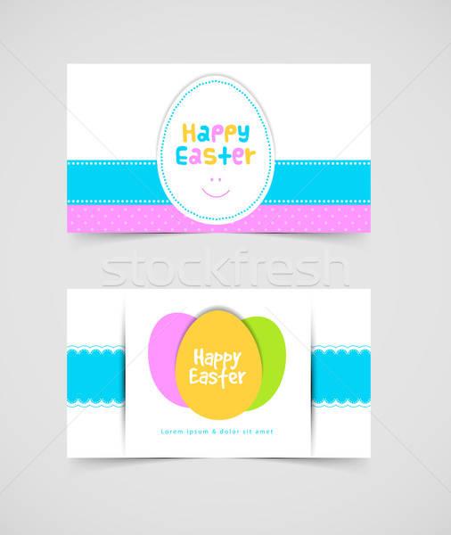 Húsvét design sablon eps 10 tavasz terv Stock fotó © anastasiya_popov