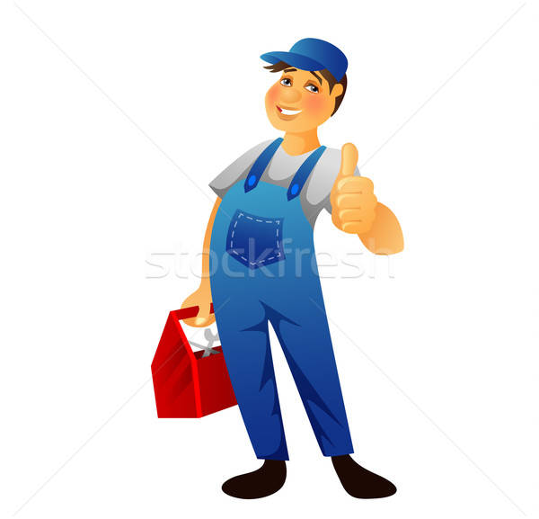 Plumber man Stock photo © anastasiya_popov