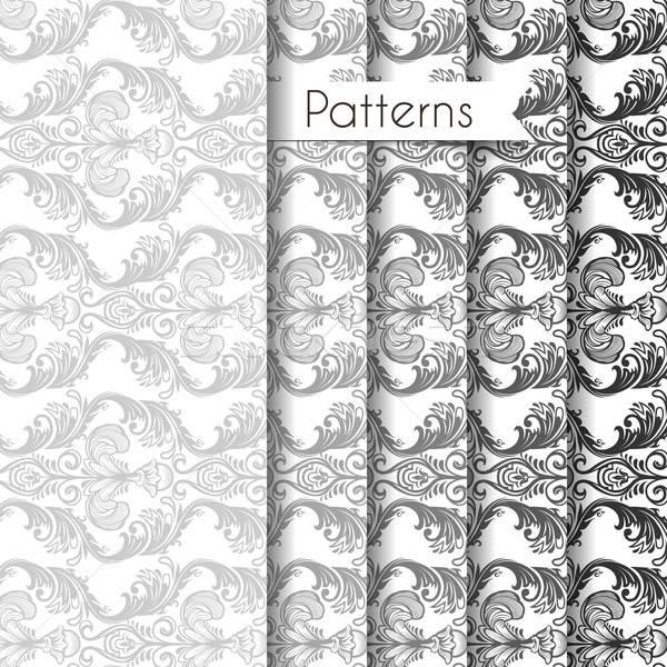 Imagine de stoc: Set · floare · hârtie · modă · proiect