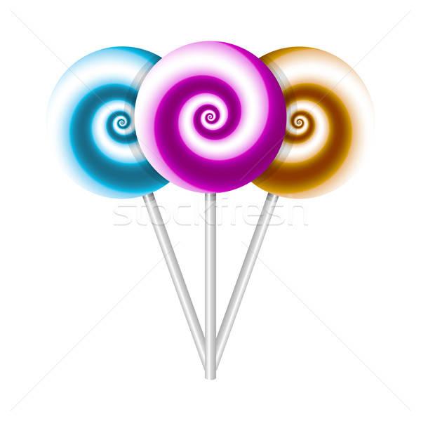 Color lollipops Stock photo © anastasiya_popov