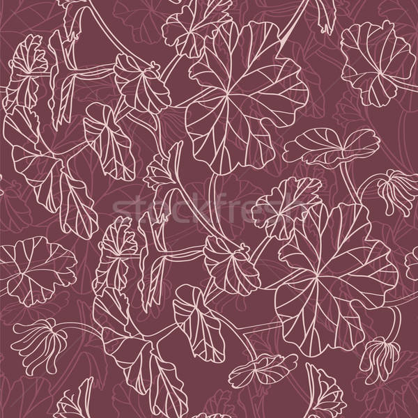 Floral feuille cadre beauté art Photo stock © anastasiya_popov