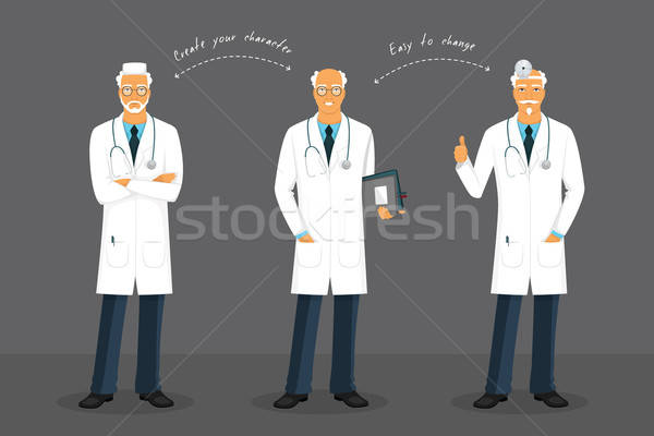 Edad médico hombre médicos arte Foto stock © anastasiya_popov