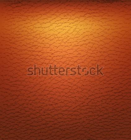Old brown leather texture Stock photo © anastasiya_popov