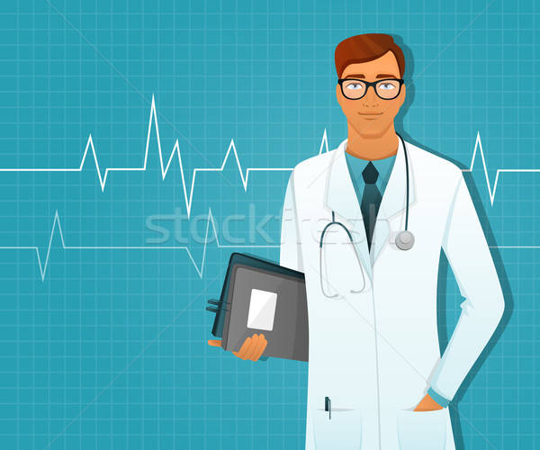 Doctor man Stock photo © anastasiya_popov