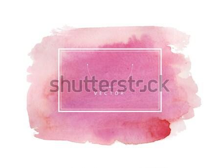 Mano verniciato acquerello texture abstract sfondo Foto d'archivio © anastasiya_popov