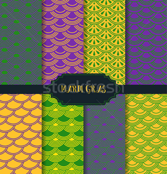 Mardi Gras pattern backgrounds Stock photo © anastasiya_popov