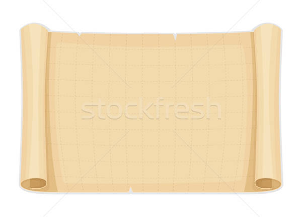 Stock photo: Old papyrus background template