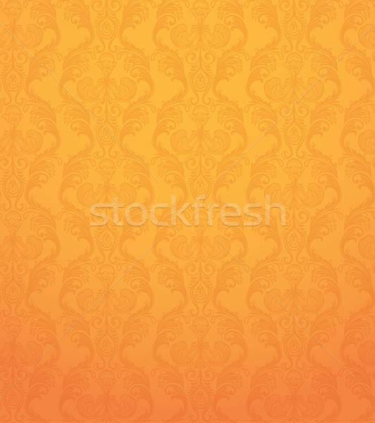 Szín végtelen minta narancs textúra divat absztrakt Stock fotó © anastasiya_popov