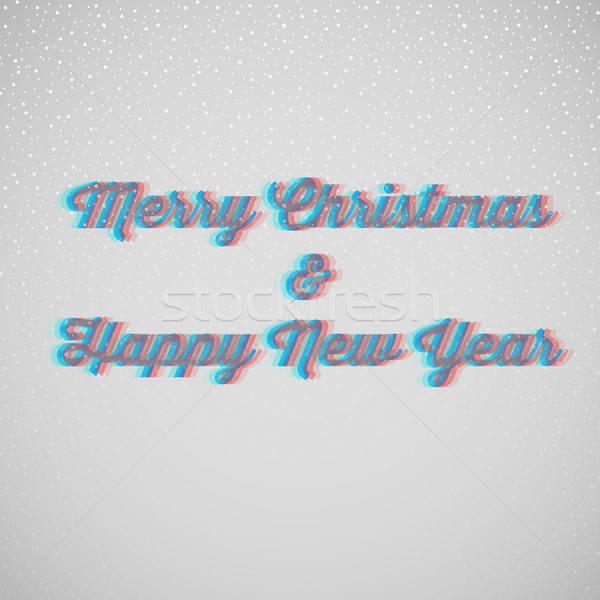 Marry christmas and happy New Year Stock photo © anastasiya_popov