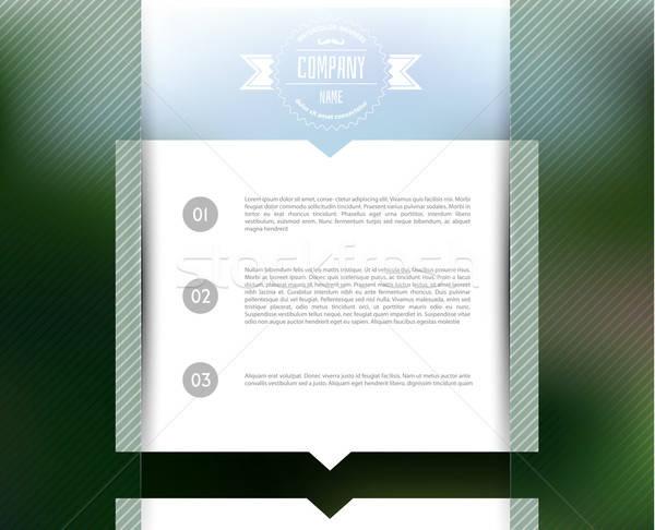 Stok fotoğraf: Bulanık · web · tasarım · şablon · eps · 10 · iş