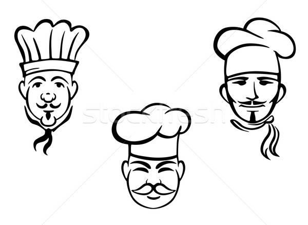 European restaurant chefs Stock photo © anbuch