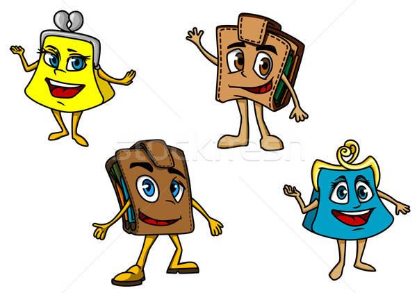 Cartoon purses and wallets Stock photo © anbuch