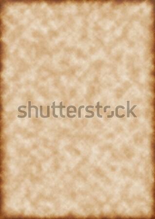 Papel velho papel projeto cor padrão pergaminho Foto stock © anbuch