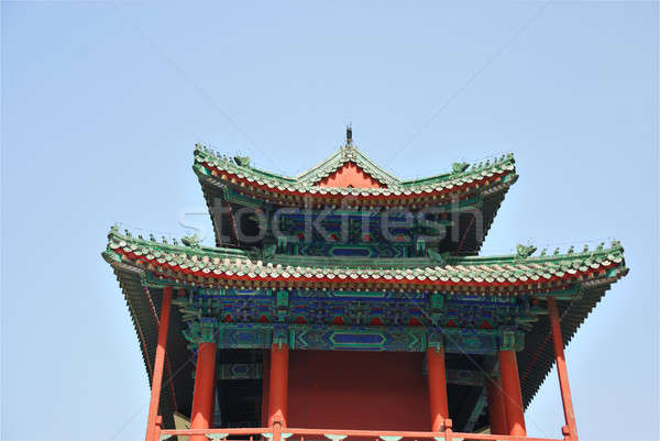 Chinese ancient temple Stock photo © anbuch