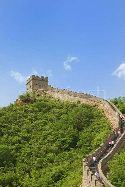 Seddi Çin güzel manzara Pekin doğa Stok fotoğraf © anbuch