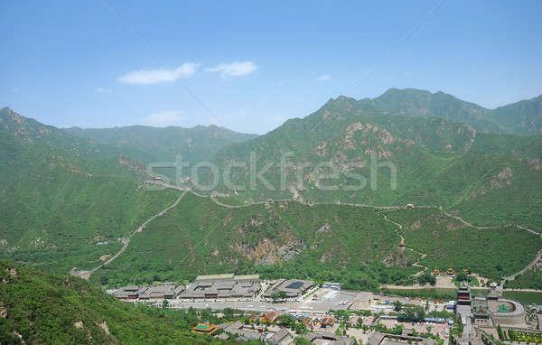 China belo paisagem Pequim natureza Foto stock © anbuch