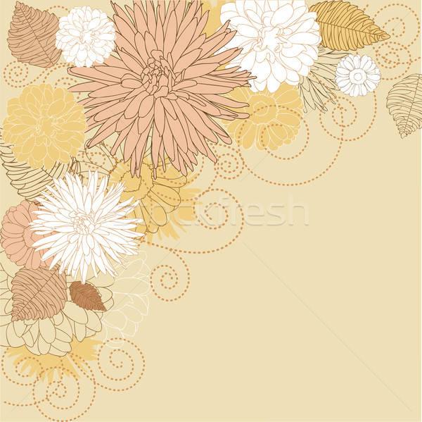 Abstract flourish background Stock photo © anbuch