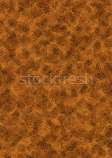 Enferrujado metal grunge fundo ouro ferrugem Foto stock © anbuch