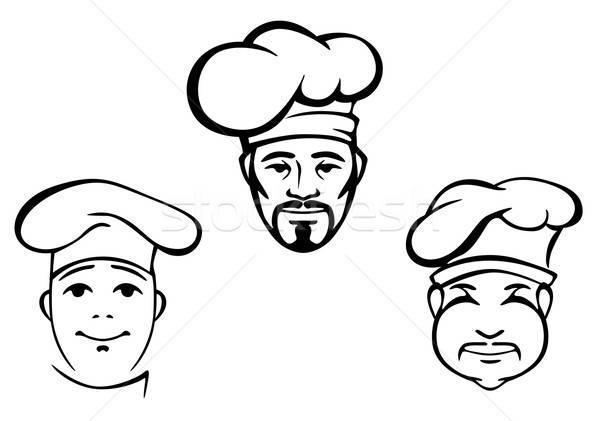Restaurant chefs Stock photo © anbuch