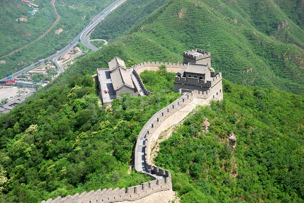 Great wall Китай красивой пейзаж Пекин природы Сток-фото © anbuch