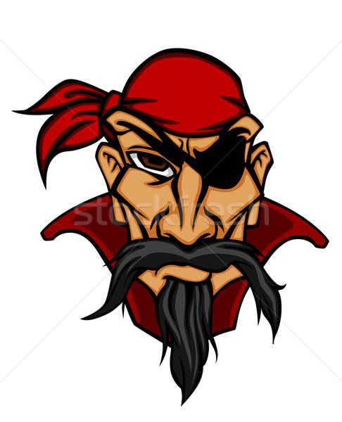 Danger pirate in bandana Stock photo © anbuch