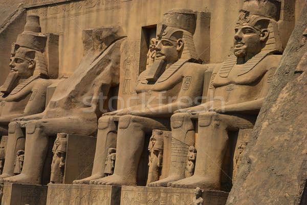 Египет древних старые храма каменные архитектура Сток-фото © anbuch
