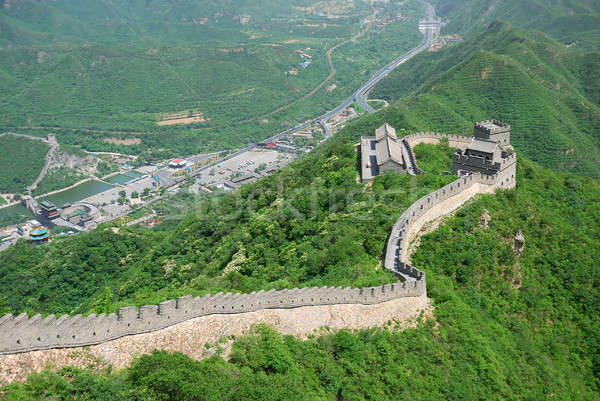 Gran muralla China hermosa paisaje Beijing pared Foto stock © anbuch