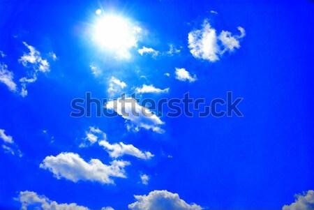 Beautiful cloudscape Stock photo © anbuch