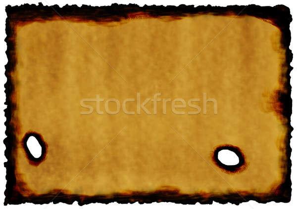 Papel viejo papel diseno patrón pergamino Foto stock © anbuch