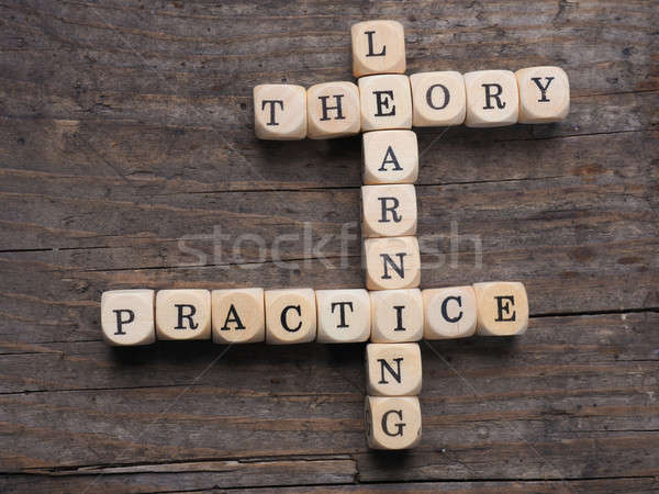 Theory and practice Stock photo © andreasberheide