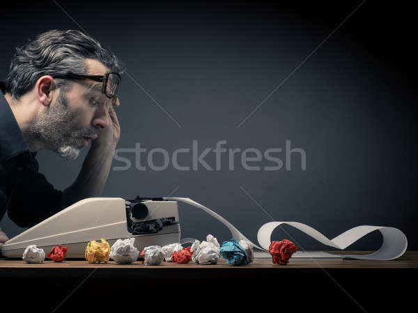 Editor at work Stock photo © andreasberheide
