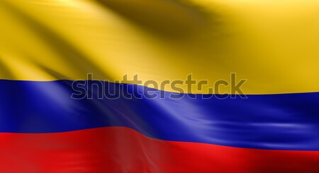 Flag of Colombia  Stock photo © andreasberheide