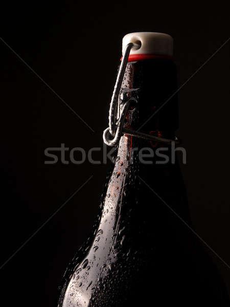 Cold bottle of beer Stock photo © andreasberheide
