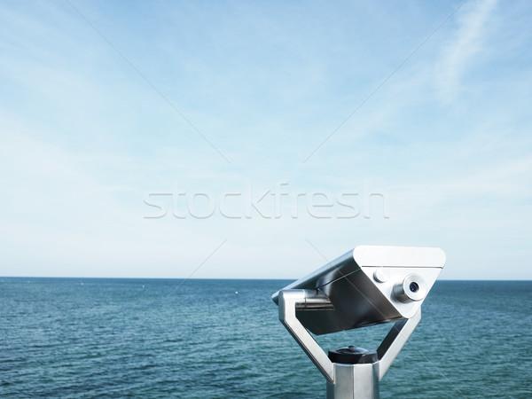 Balti-tenger nyár látcső tenger híd nap Stock fotó © andreasberheide