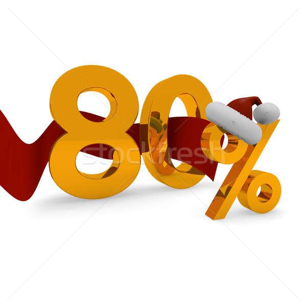 Eighty percent discount Stock photo © andreasberheide