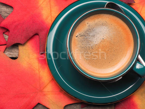 Close up of a cup of espresso Stock photo © andreasberheide