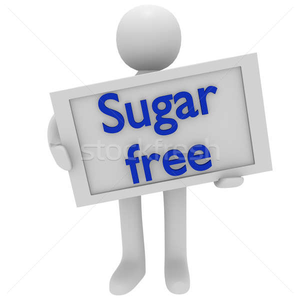 Sugar free Stock photo © andreasberheide