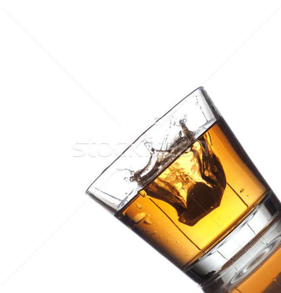 Bebida fria branco cerveja fundo beber Foto stock © andreasberheide