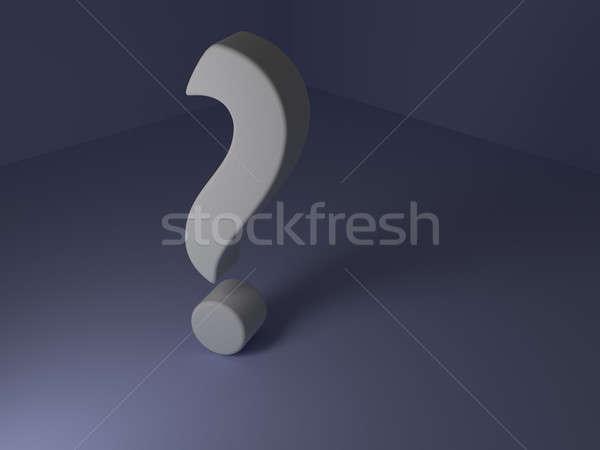 Question mark Stock photo © andreasberheide